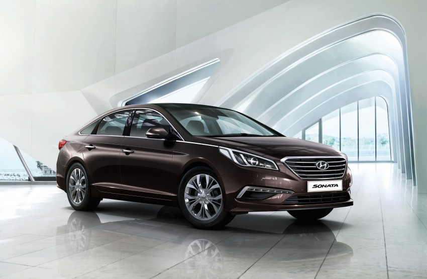 New Hyundai Sonata LF launched in Malaysia – three 2.0L variants, CBU from RM139k to RM154k Image #294571