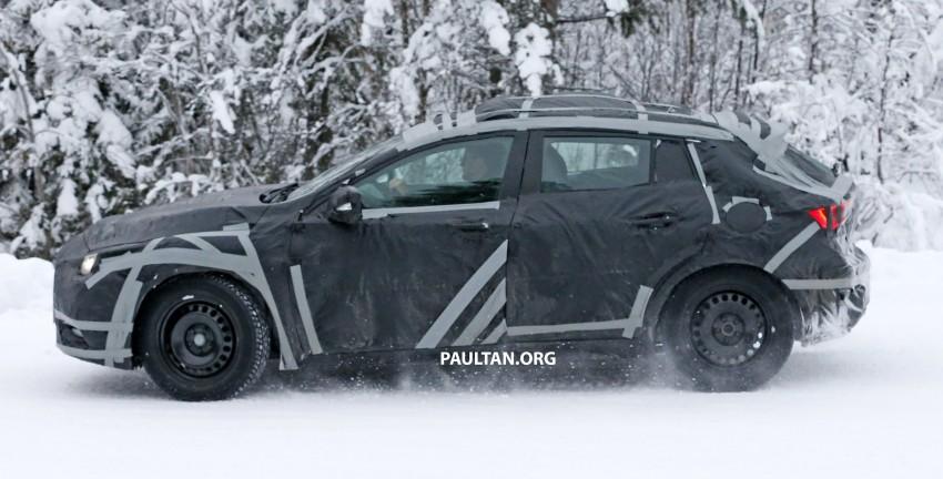 SPYSHOTS: Infiniti Q30 goes winter testing in France Image #299110