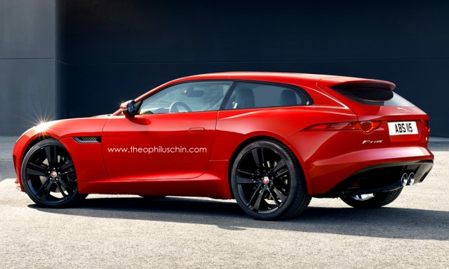 Jaguar F-Type Shooting Brake 1
