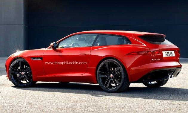 Jaguar F-Type Shooting Brake 1