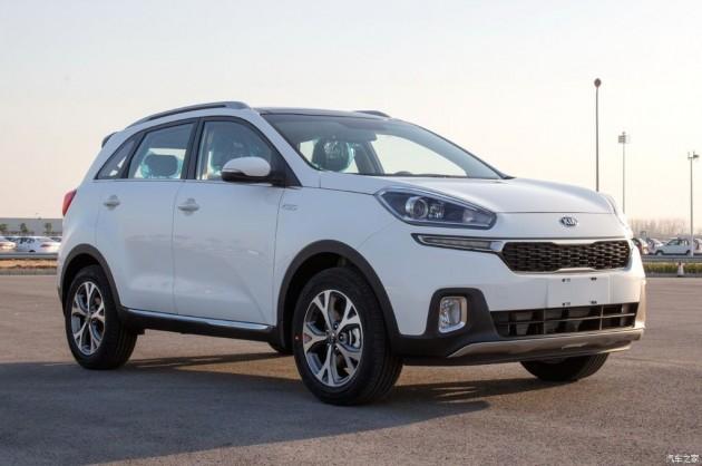 SPIED Kia KX3 Bsegment SUV in full production trim