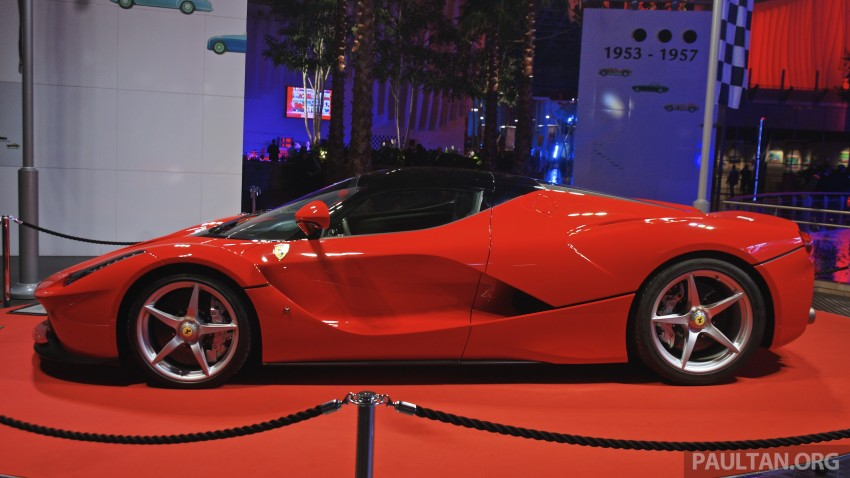 GALLERY: LaFerrari shown at Ferrari World Abu Dhabi Image #295115
