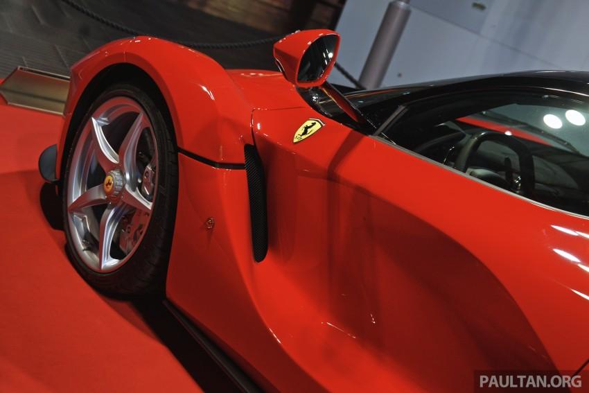 GALLERY: LaFerrari shown at Ferrari World Abu Dhabi Image #295116