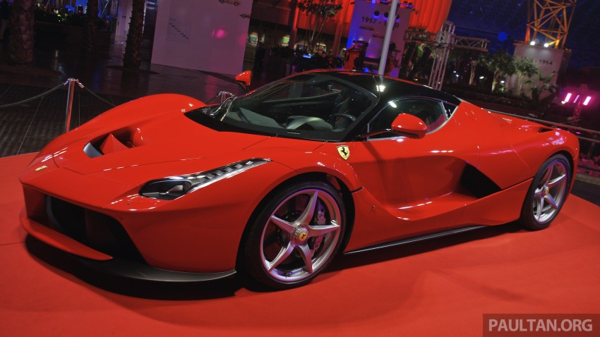 GALLERY: LaFerrari shown at Ferrari World Abu Dhabi Image #295118