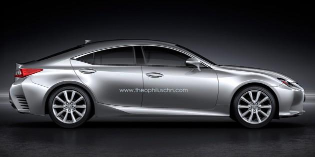 Lexus RC GT 4