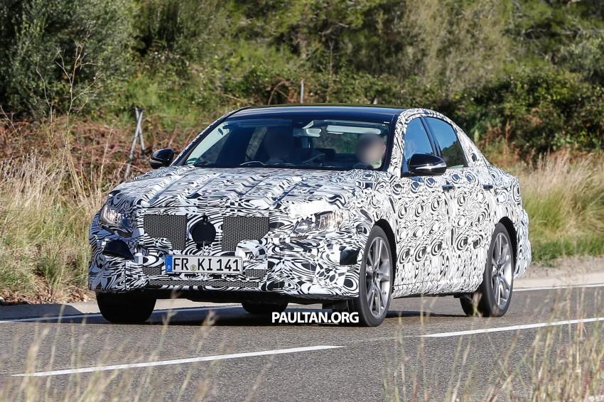 SPYSHOTS: Next-generation W213 Mercedes-Benz E-Class – a baby S-Class on the inside? Image #293311