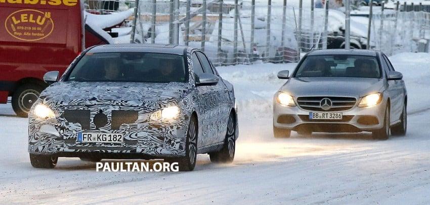 SPYSHOTS: Next-generation W213 Mercedes-Benz E-Class – a baby S-Class on the inside? Image #296952