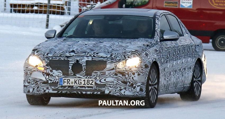 SPYSHOTS: Next-generation W213 Mercedes-Benz E-Class – a baby S-Class on the inside? Image #296951
