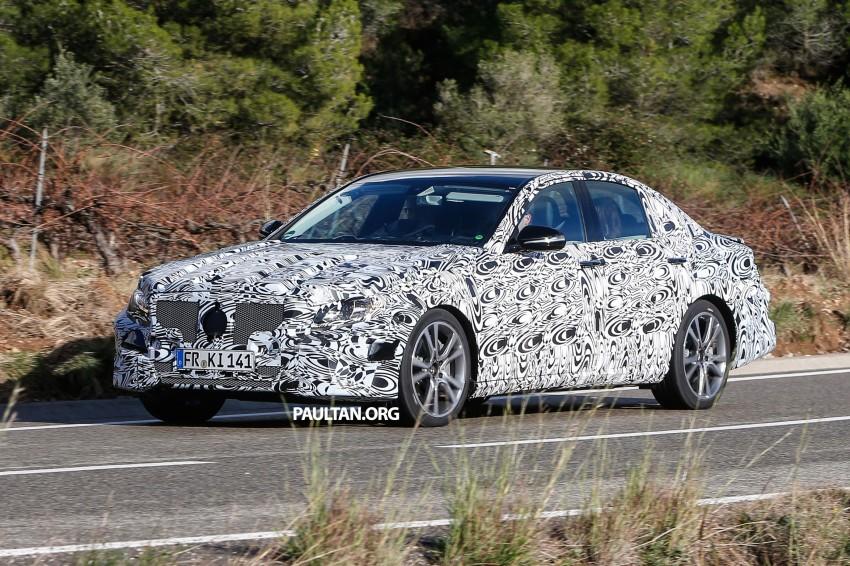 SPYSHOTS: Next-generation W213 Mercedes-Benz E-Class – a baby S-Class on the inside? Image #293306