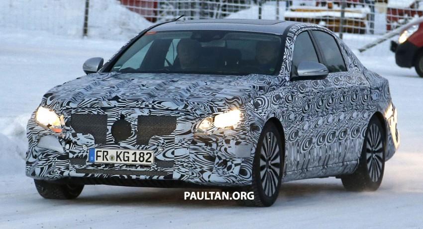 SPYSHOTS: Next-generation W213 Mercedes-Benz E-Class – a baby S-Class on the inside? Image #296949