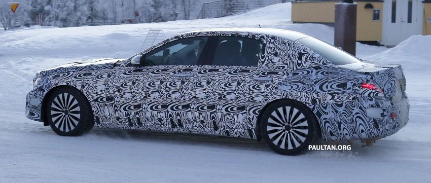 SPYSHOTS: Next-generation W213 Mercedes-Benz E-Class – a baby S-Class on the inside? Image #296948