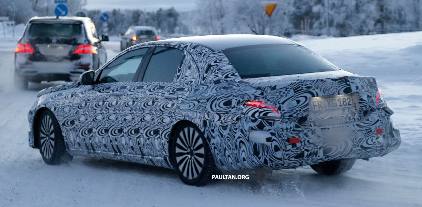 SPYSHOTS: Next-generation W213 Mercedes-Benz E-Class – a baby S-Class on the inside? Image #296946