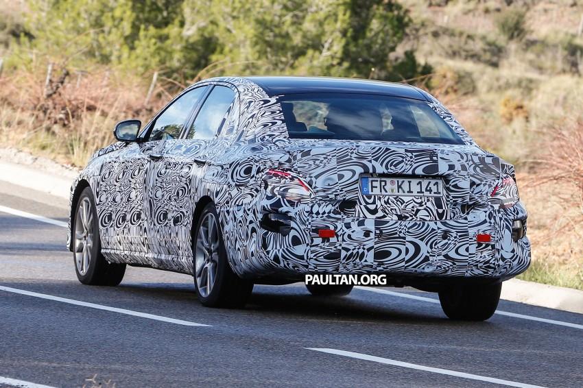 SPYSHOTS: Next-generation W213 Mercedes-Benz E-Class – a baby S-Class on the inside? Image #293302