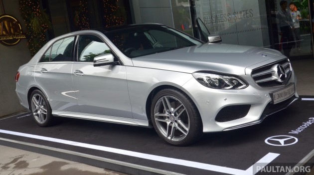 Mercedes-Benz E300 BlueTEC Hybrid launched - RM349k