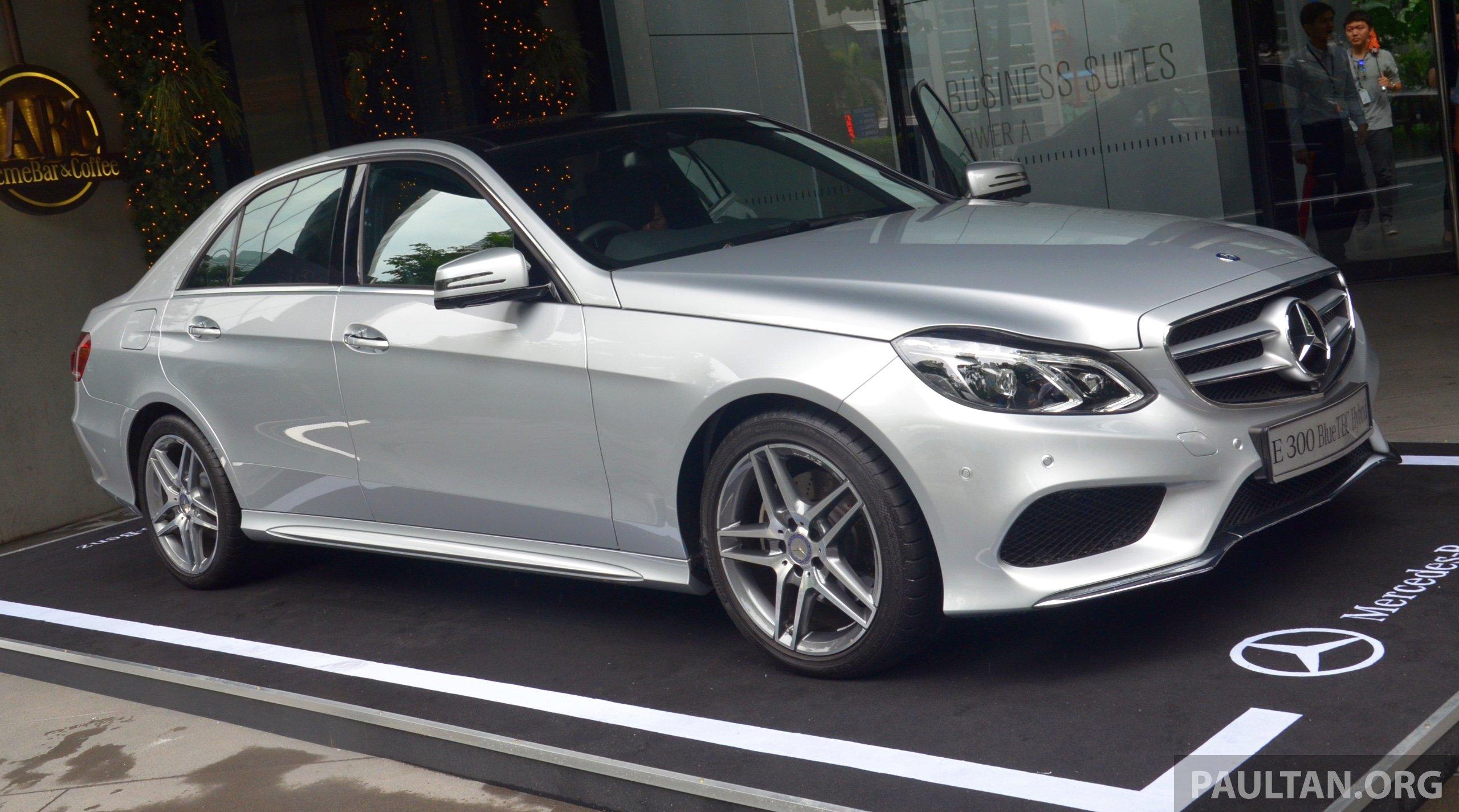 Mercedes benz e300 bluetec hybrid launched rm349k for Mercedes benz hybrid models