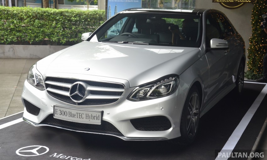 W212 Mercedes-Benz E 300 BlueTEC Hybrid diesel now in Malaysia – CKD locally-assembled, RM348,888 Image #299662