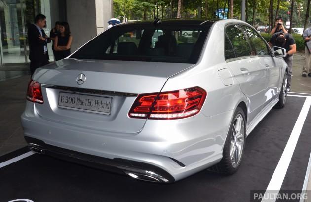 Mercedes E300 Hybrid 3