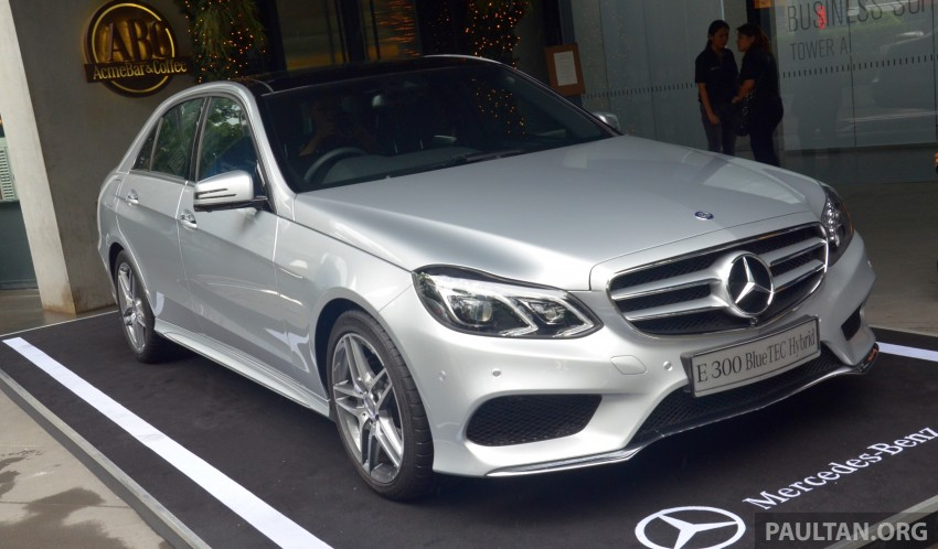 W212 Mercedes-Benz E 300 BlueTEC Hybrid diesel now in Malaysia – CKD locally-assembled, RM348,888 Image #299659