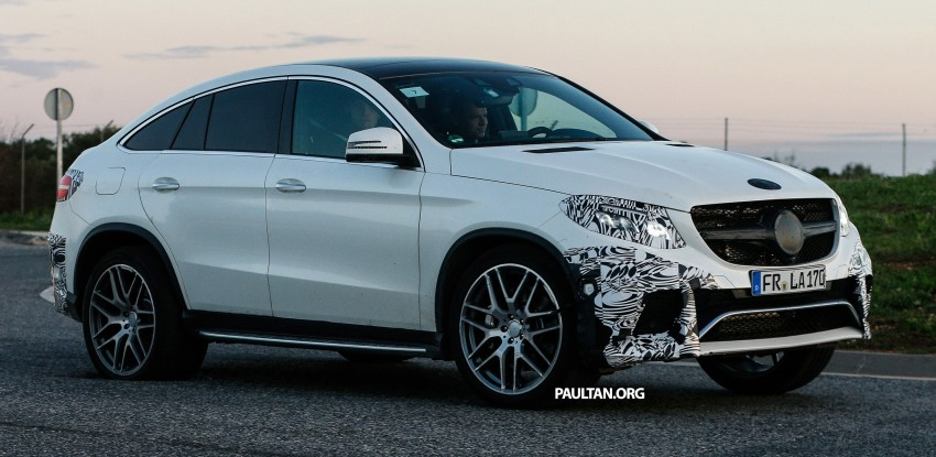SPYSHOTS: Mercedes-Benz GLE Coupe winter-testing Image #294214
