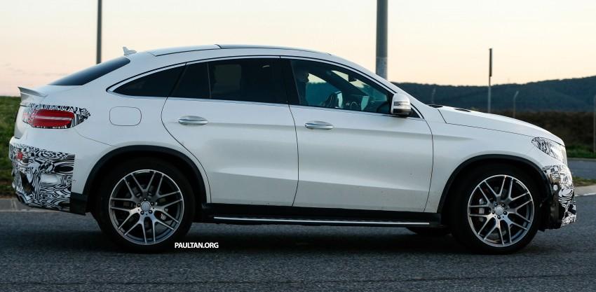 SPYSHOTS: Mercedes-Benz GLE Coupe winter-testing Image #294213