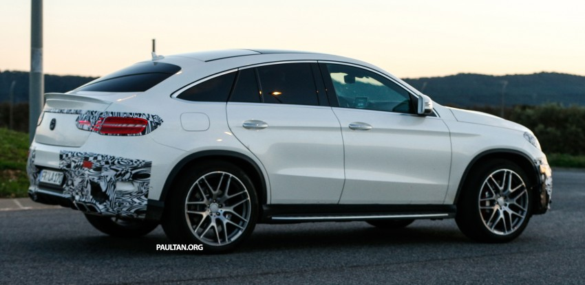 SPYSHOTS: Mercedes-Benz GLE Coupe winter-testing Image #294212