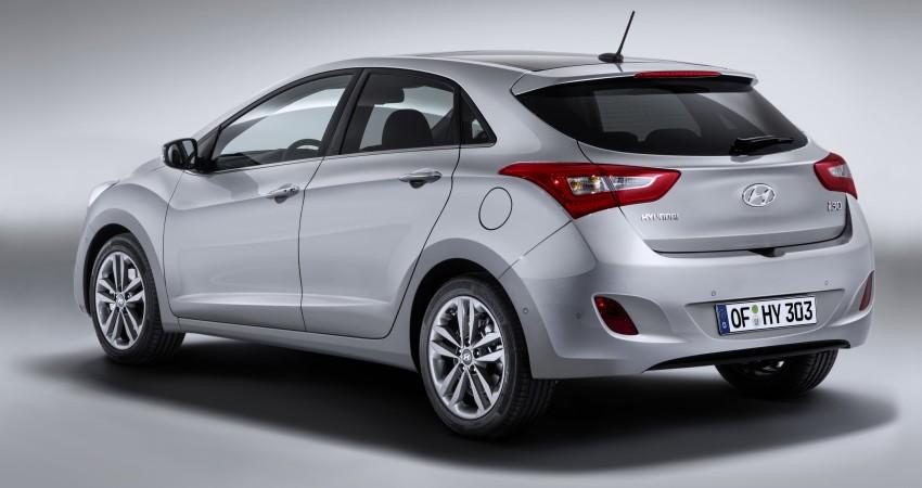 Hyundai i30 facelift debuts with new Turbo variant Image #295220