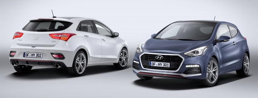 Hyundai i30 facelift debuts with new Turbo variant Image #295208