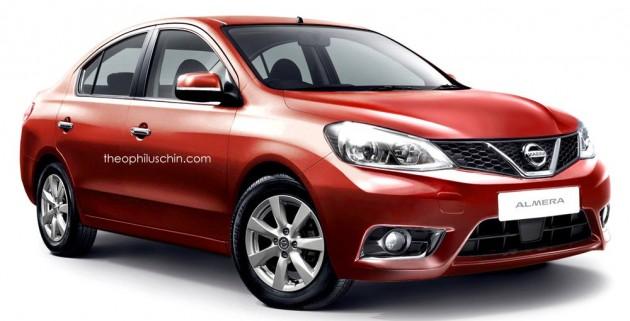 Nissan Almera Facelift 9