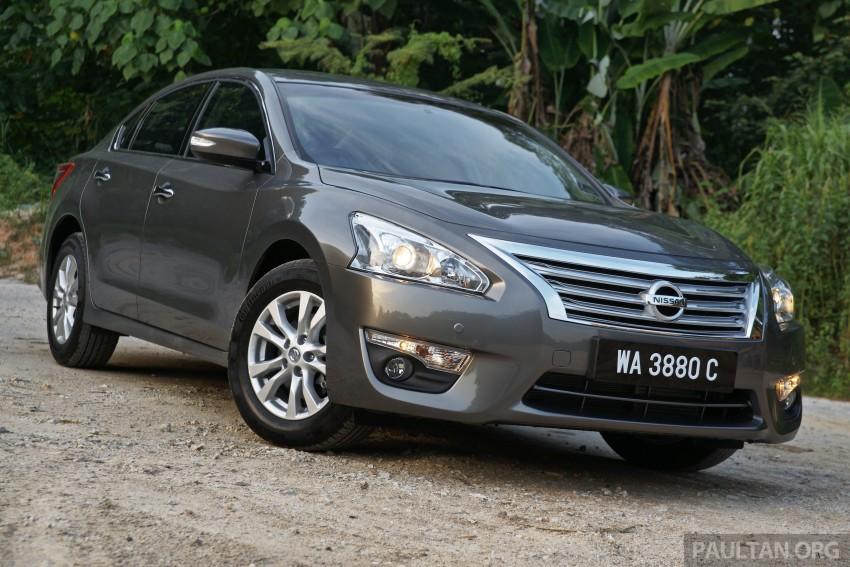 DRIVEN: Nissan Teana 2.0XL – mid-spec, top choice? Image #299029