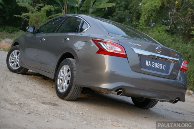 Nissan Altima to be facelifted in 2016, will Teana follow suit?