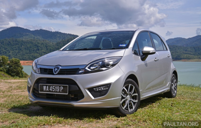DRIVEN: Proton Iriz 1.6 CVT Premium video review Image #293876