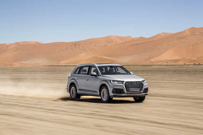 Audi Q7 – second generation 7-seater SUV debuts Image #329376
