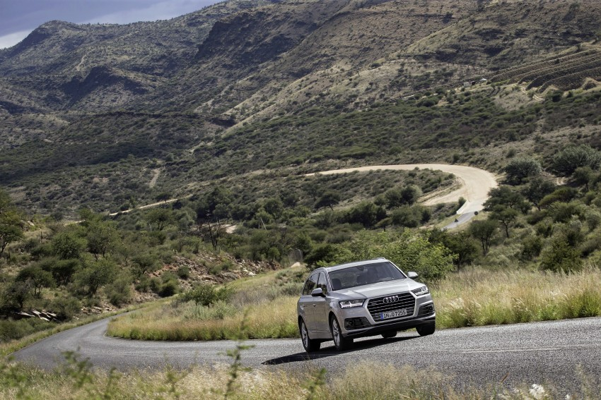 Audi Q7 – second generation 7-seater SUV debuts Image #329367