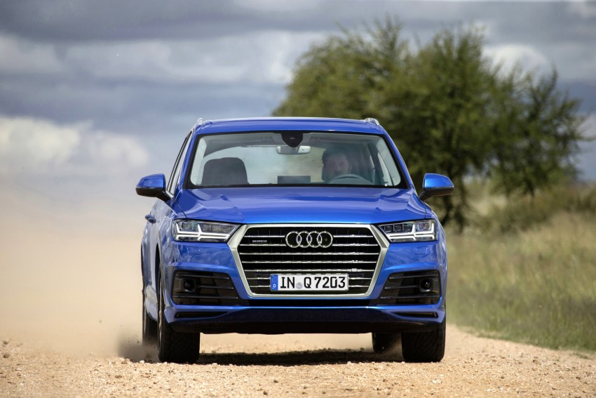 Audi Q7 – second generation 7-seater SUV debuts Image #329371