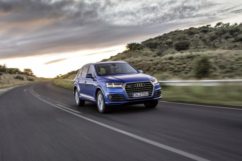 Audi Q7 – second generation 7-seater SUV debuts Image #329365