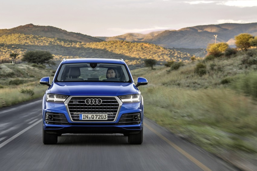 Audi Q7 – second generation 7-seater SUV debuts Image #329362