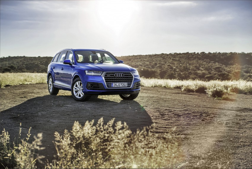 Audi Q7 – second generation 7-seater SUV debuts Image #329354