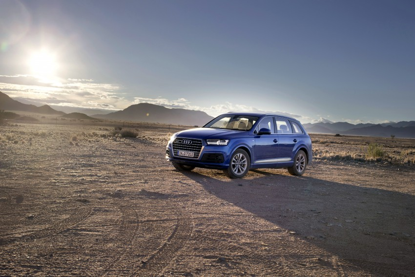 Audi Q7 – second generation 7-seater SUV debuts Image #329352
