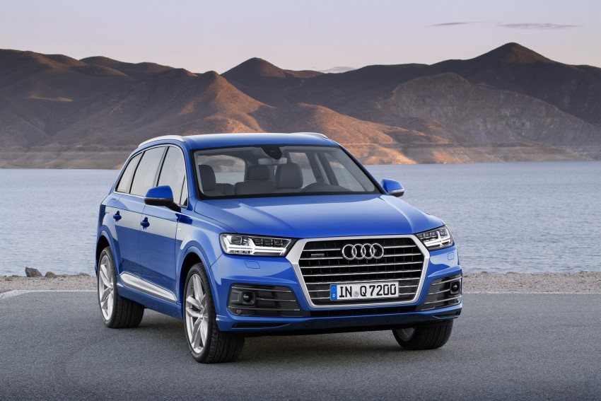 Audi Q7 – second generation 7-seater SUV debuts Image #336987