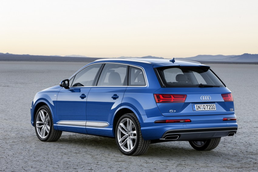 Audi Q7 – second generation 7-seater SUV debuts Image #336988