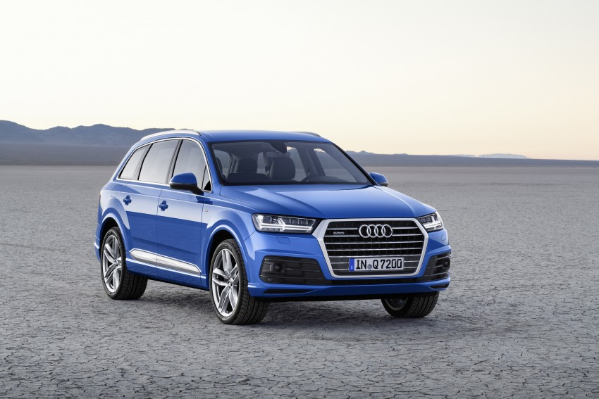 Audi Q7 – second generation 7-seater SUV debuts Image #336986