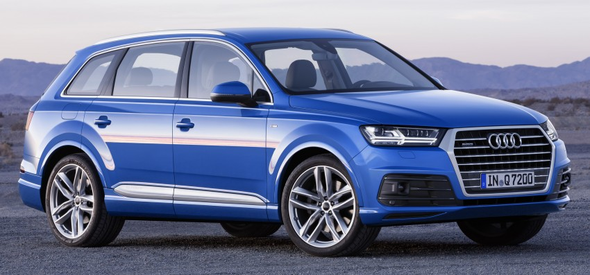 Audi Q7 – second generation 7-seater SUV debuts Image #336985