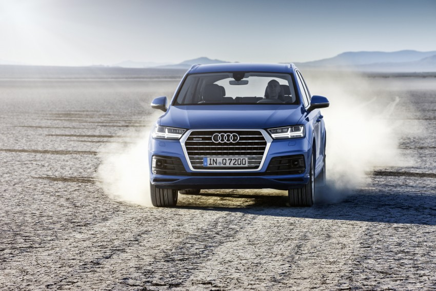 Audi Q7 – second generation 7-seater SUV debuts Image #336982