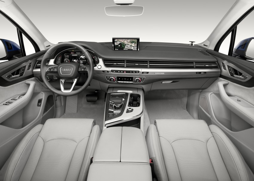 Audi Q7 – second generation 7-seater SUV debuts Image #336972