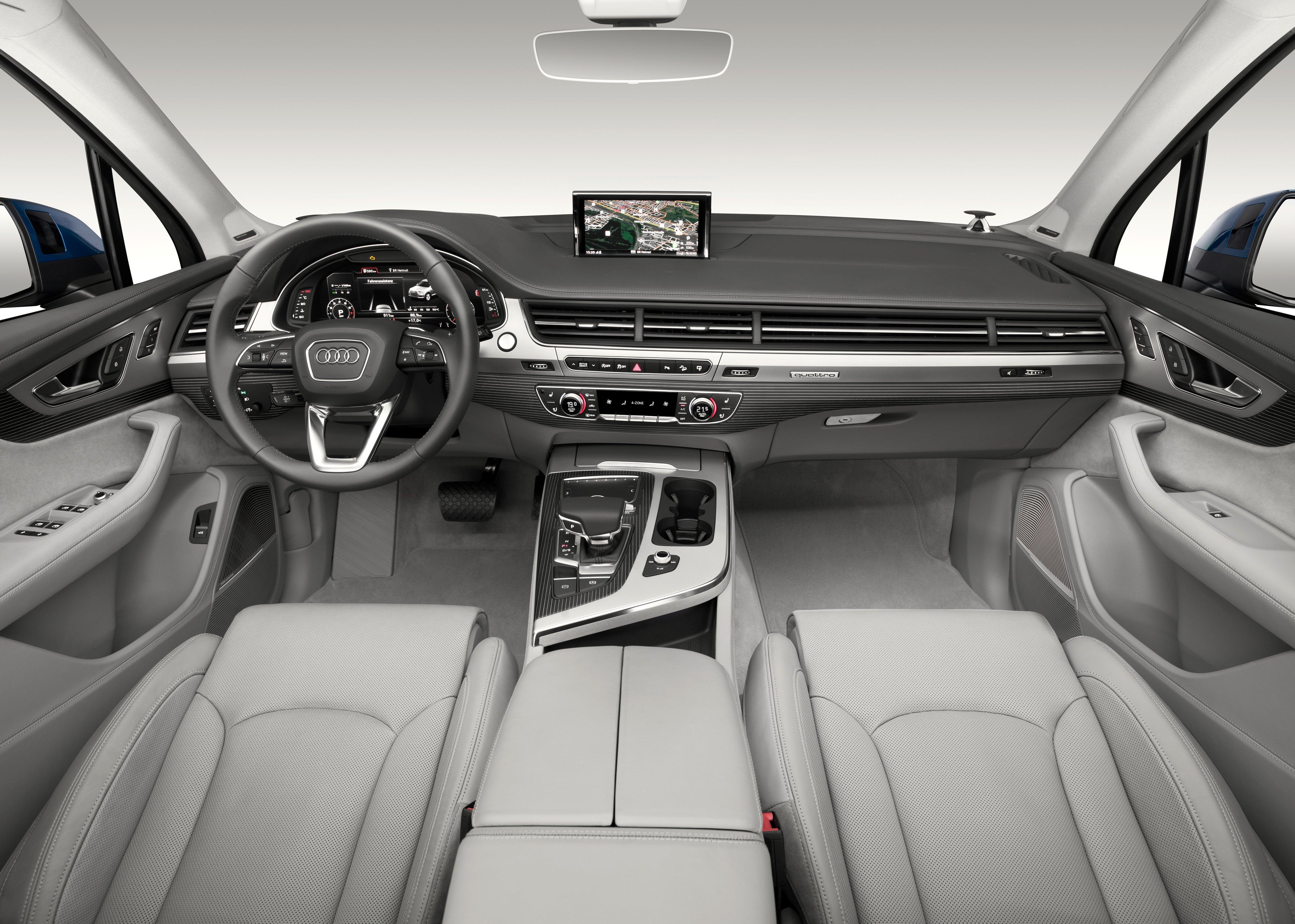 Audi Q7 Second Generation 7 Seater Suv Debuts Paul Tan