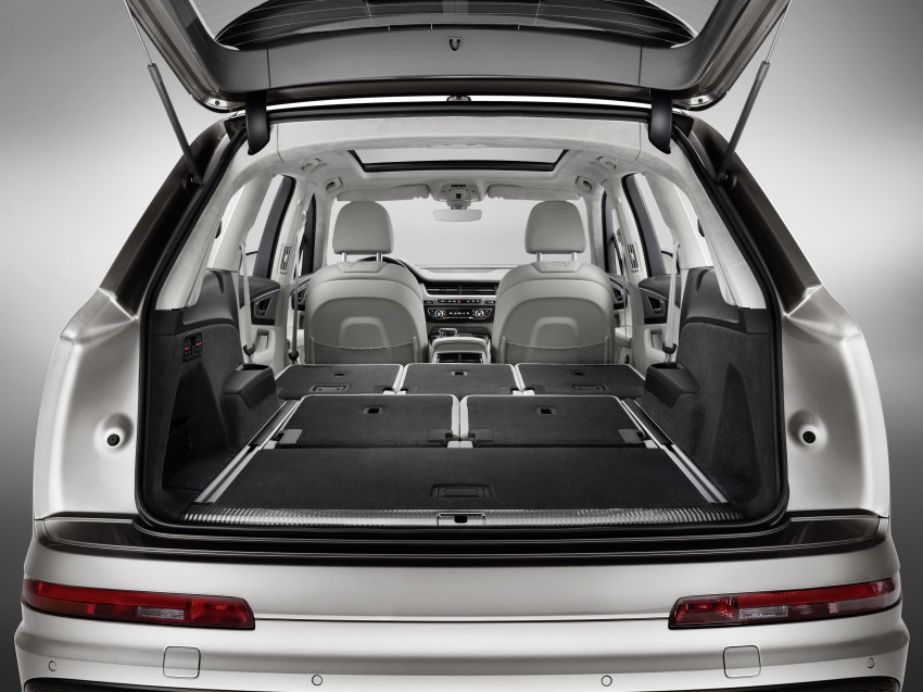 Audi Q7 – second generation 7-seater SUV debuts Image #336978