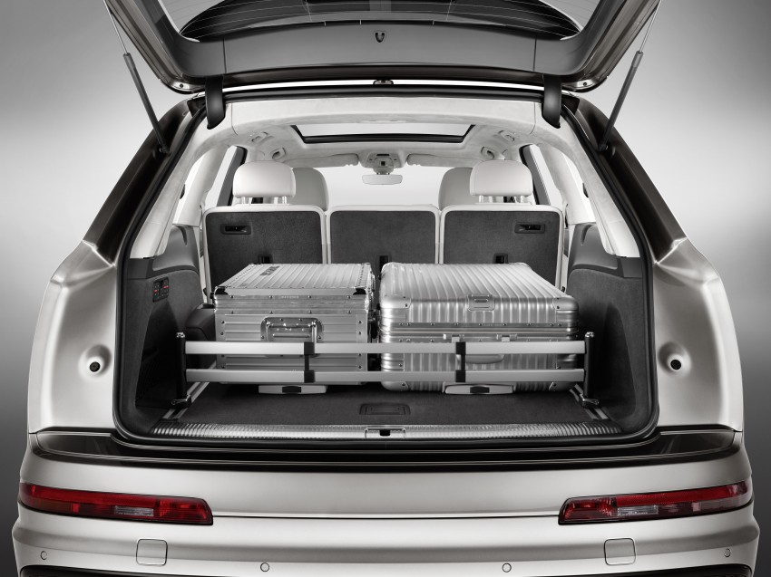 Audi Q7 – second generation 7-seater SUV debuts Image #336977