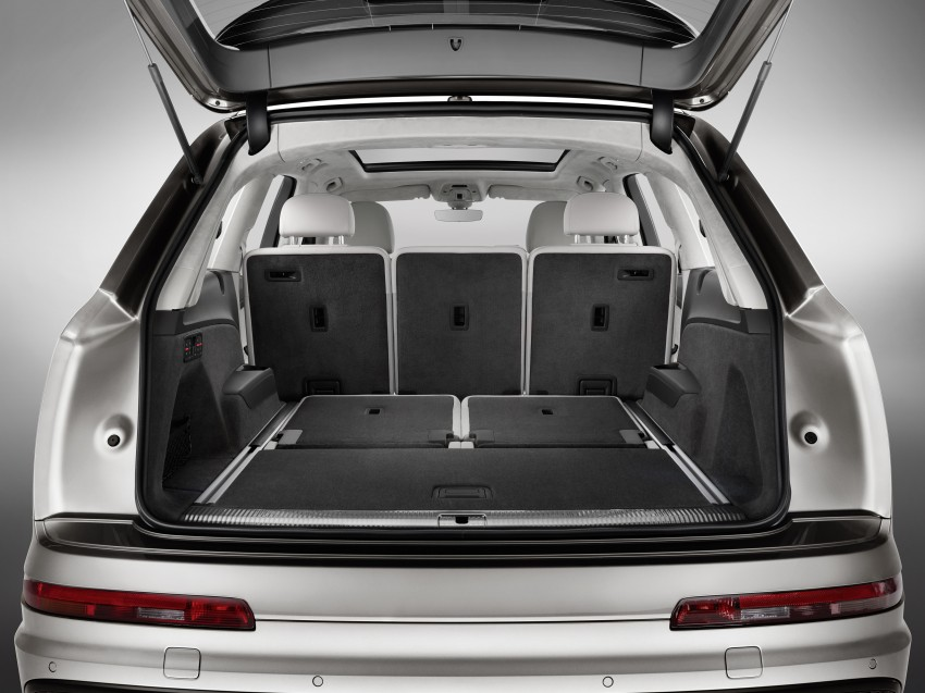 Audi Q7 – second generation 7-seater SUV debuts Image #336976