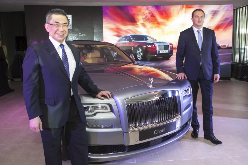 Rolls-Royce Ghost Series II gets unveiled in Malaysia Image #293661
