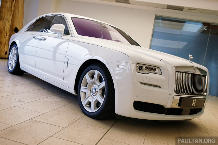 Rolls-Royce Ghost Series II gets unveiled in Malaysia Image #293664